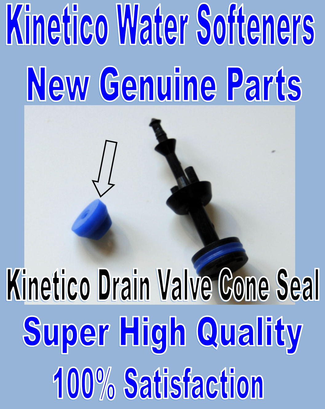 Kinetico Water Softener Repairs Parts Rebuild Kits